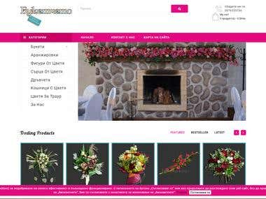 Flower Shop eCommerce with OpenCart