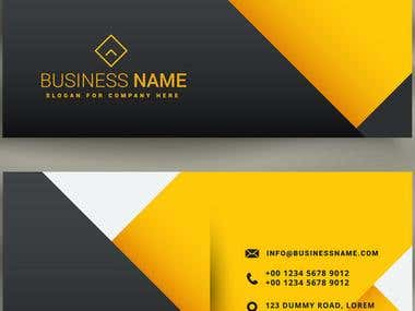 It is business card.