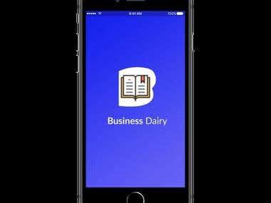 Buisness Diary App
