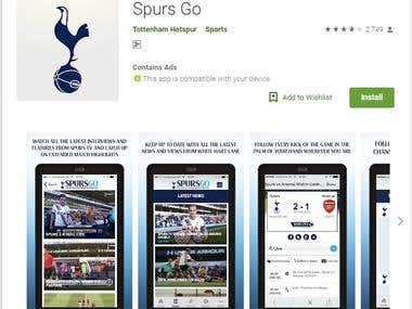 Spurs Go