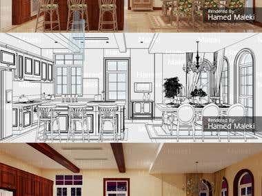 Architectural 3D Render