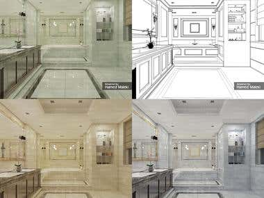 Architectural 3D Render - AutoCAD, Max, VRAY