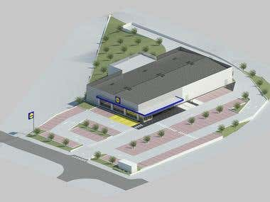 Commercial Space - LIDL