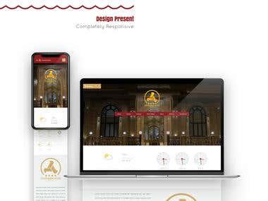 GOSTARESH Hotel Web UI