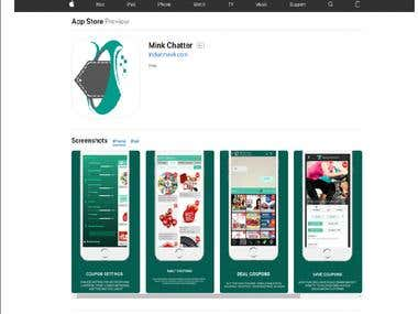 Mink Chatter IOS App