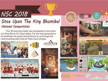 National Software Contest 2018 - Once Upon The King Bhumibol
