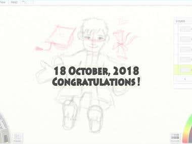 Speed Paint - Congratulations