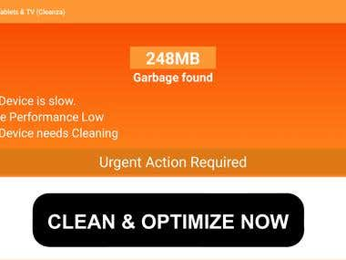 Cleaner for Android Tablets & Televisions