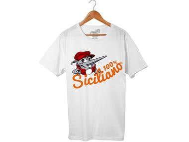 t- shirt Siciliano