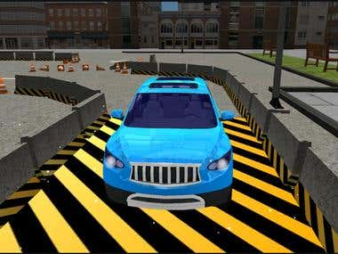 Game Luxury SUV Car : Parking Master 3D