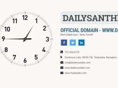 dailysanthe.com