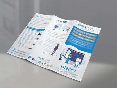 RAYLYTIC Brochure design