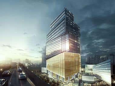 CG Building - Post Production