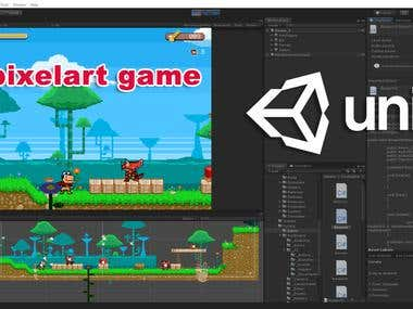 Unity 2D pixel art Game