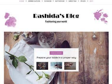 Personal Joomla Blog