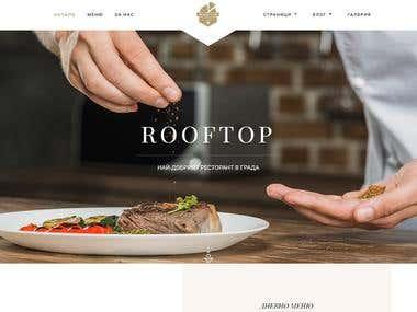 Restaurants & Website