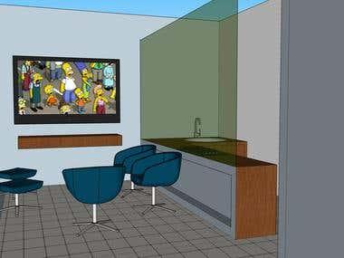 Small Apartment Designing