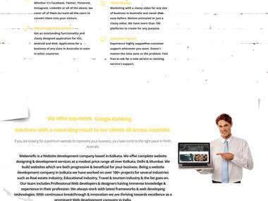 Webenefic Website (Company I work Currently)