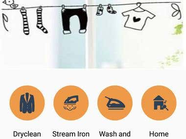 Ozone cleaners laundry app