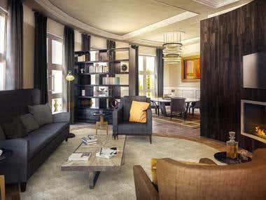 Interior Design & Rendering