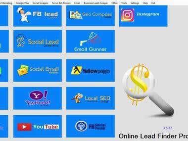 Online Leads finder