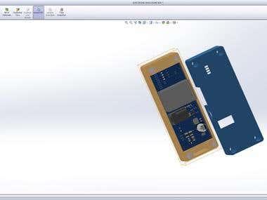 Design casing of board