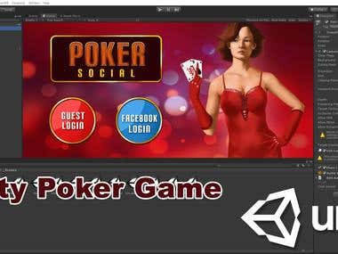 Unity Multiplayer Poker Game
