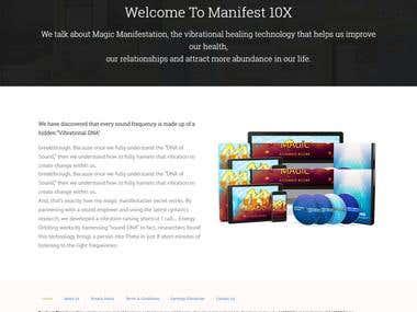 Manifest 10X