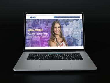 Website - Mirela Macedo