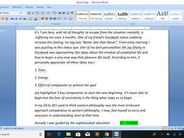 DATA ENTRY TYPIST & PDF CONVERTER TO WORD & EXCEL MY WORKS :