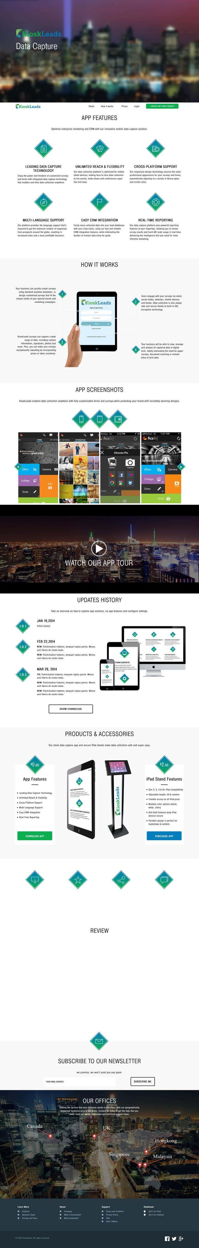 Kiosk Lead App [IOS + Android]   Freelancer