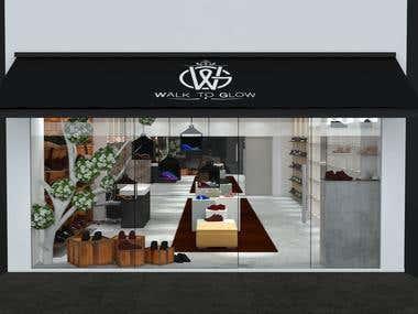 Walk to Glow_Shoe Showroom