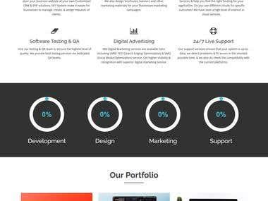 Responsive website made for SkySystem [Our Official Website]