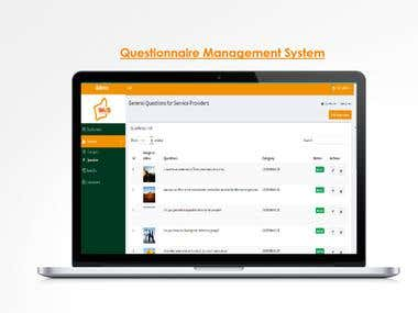 Questionnaire Management System - Admin