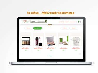 Ecodrive - Multivendor Ecommerce System
