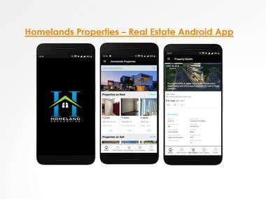 Homelands Properties App