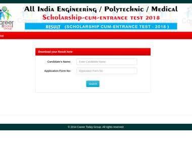 Web Application Development - Student Portal