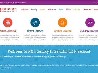 RKL Preschool Website