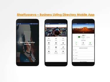 Bhartiyaseva – Business Listing Directory Mobile App
