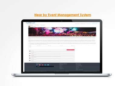 Near by Event Management System