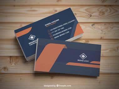 I am a professional Business Cards Designeer
