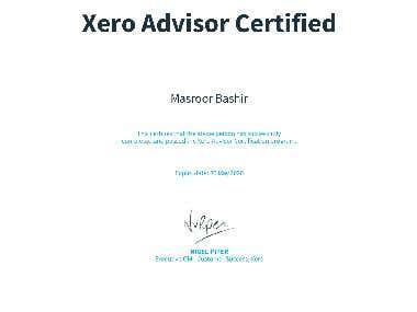Xero Advisor Certified Xero Advisor Certification program