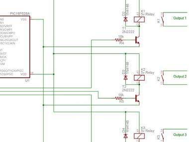 Timer circuit diagram - sample