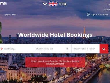 Hotel Booking Web & App