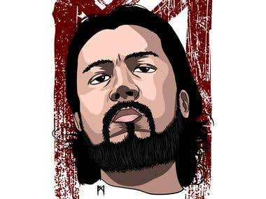 Cartoon Vector Portrait