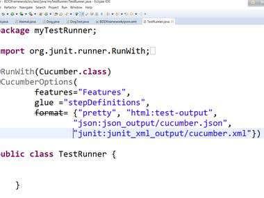 Junit TestRunner Class