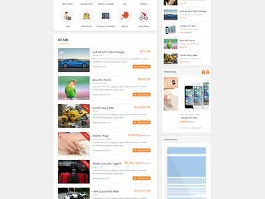 Adforest Theme Customition