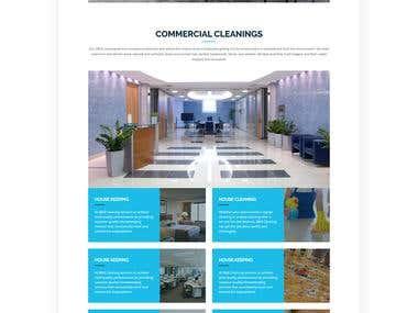 Wordpress Template Page Building&& Design