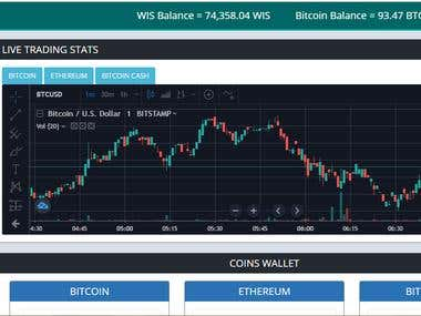 CryptoCurrency Wallet for WIS Coin