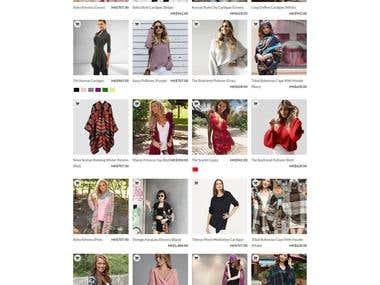 Fashion Dress eCommerse